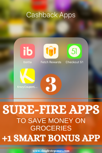 save money on groceries budget apps