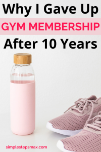 money saving life hacks for extra cash that giving up a gym membership provides