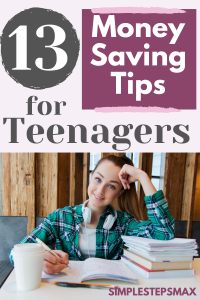 how to save money as a teen or college student