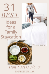 what is a staycation and best staycation ideas